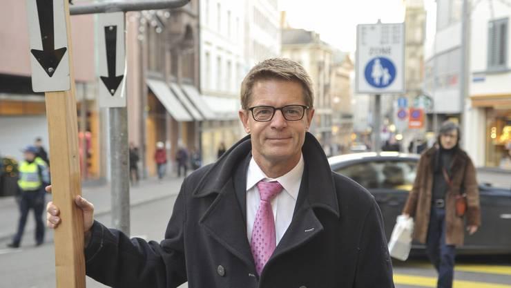 Gabriel Barell Basler Gewerbeverband. (Archiv)