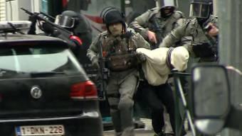 Paris-Attentäter Salah Abdeslam bei Anti-Terror-Einsatz in Brüssel gefasst