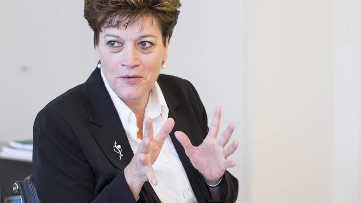 Bildungsdirektorin Silvia Steiner: Eine Politikerin, die keine Shows abzieht