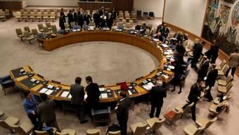Besprechung im UNO-Sicherheitsrat (Archiv)