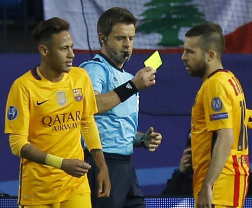 Atletico Madrid wirft Barcelona aus der Champions League.