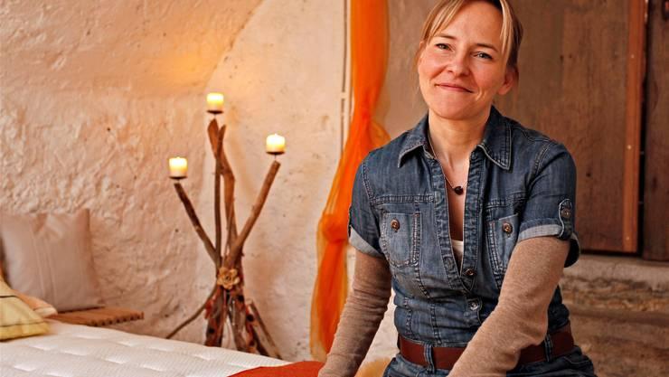 Petra Märchy bietet Gelegenheiten für ein Nickerchen an. Felix Gerber