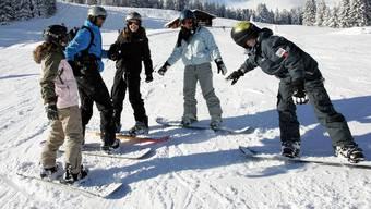Kein Skilager für die Oltner Schülerinnen und Schüler wegen des Coronavirus (Symbolbild).