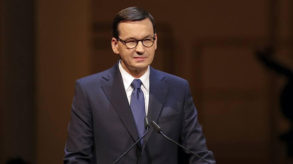 Nach Angaben des polnischen Regierungschef Morawiecki schliesst Polen für mindestens zehn Tage seine Grenzen.(Archivbild)