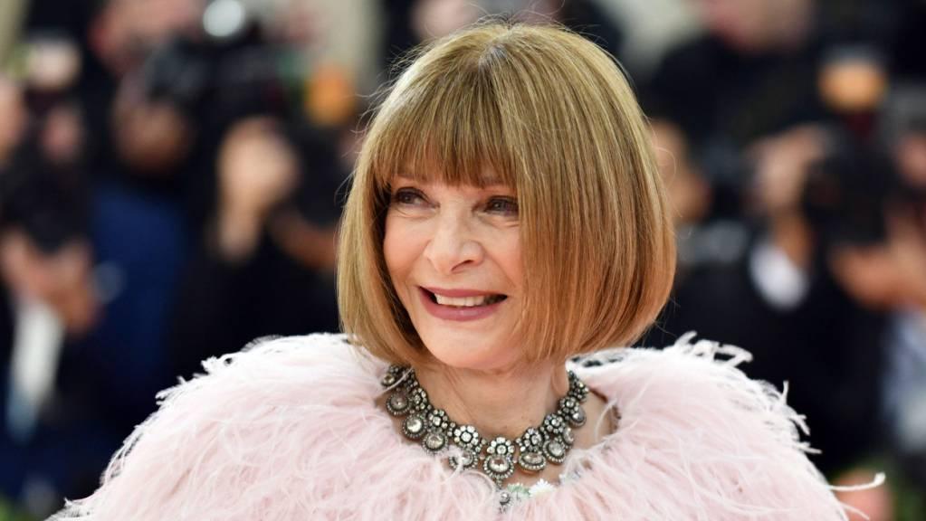 Oberste Gastgeberin der Met-Gala und Chefredakteurin der «Vogue», Anna Wintour, kommt zu einer Benefizveranstaltung des Metropolitan Museum of Art Costume Institute.