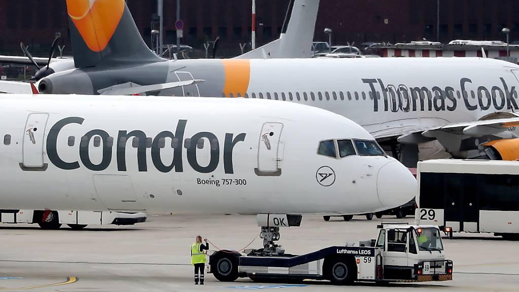 Die polnische Fluggesellschaft LOT übernimmt den Ferienflieger Condor, dessen Mutterkonzern Thomas Cook im letzten Jahr pleite ging. (Archiv)