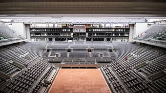 In diesem Jahr vielleicht das gewohnte Bild: Das French Open denkt über eine Durchführung ohne Zuschauer nach