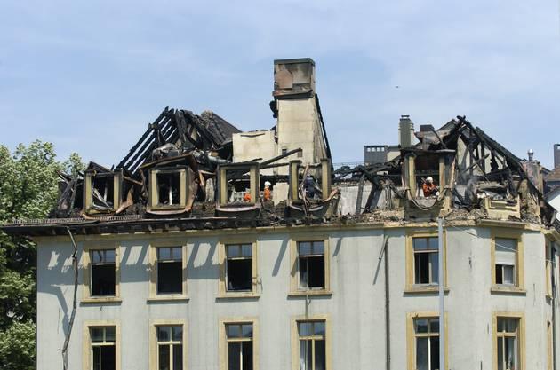 Nach dem Brand 2004