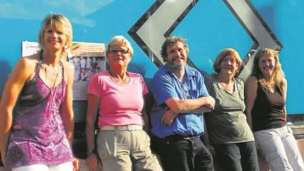 Das Team (v.l.) Jacqueline Stephani, Regula Luethi, André Weyermann, Therese Frei und Monica Aeschbacher; es fehlt Daniel Trummer.