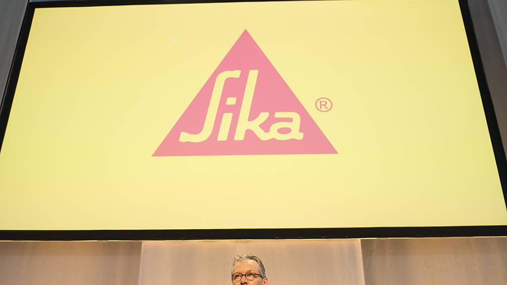 Der Schweizer Bauchemie-Hersteller Sika expandiert in neue Regionen. (Archivbild)