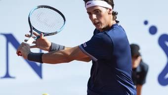 Marc-Andrea Hüsler zuletzt beim Turnier in Gstaad im Einsatz