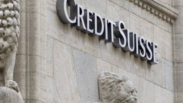 Bankgebäude der Credit Suisse