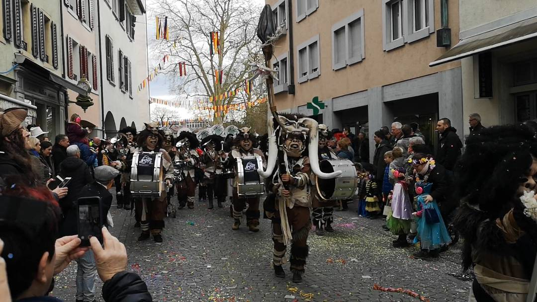 Fasnacht im Aargau 2020: Narrenrallye in Bremgarten