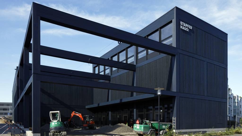 Neues Stapferhaus steht kurz vor Eröffnung