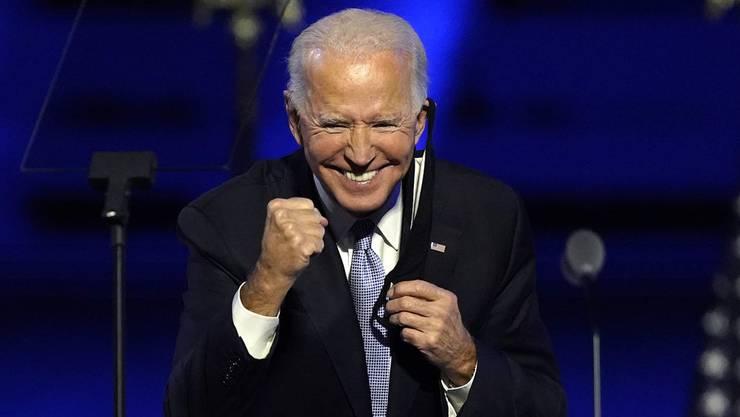 Joe Biden, der zukünftige Präsident der USA.