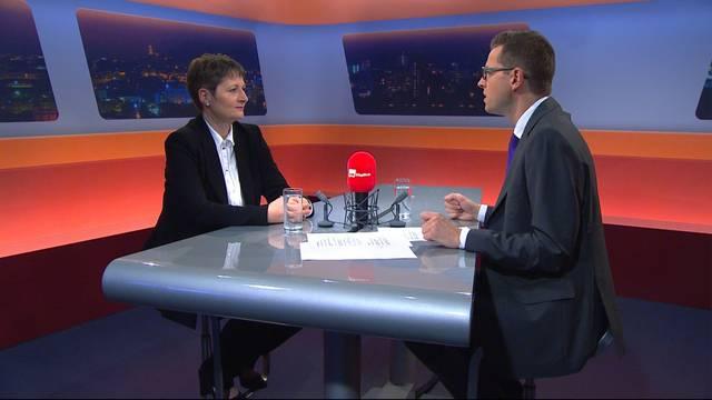 """Die neue Aargauer Regierungsrätin: Sehen Sie hier die Sendung """"TalkTäglich"""" mit Franziska Roth in voller Länge"""