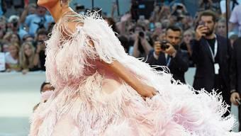 Ein Traum aus Federn: Lady Gaga vergangenes Jahr an den Filmfestspielen Venedig.