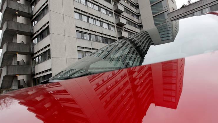 Bereits ab nächstem Sommer soll das Bürgerspital mit Fernwärme beheizt werden. Foto: Hanspeter Bärtschi
