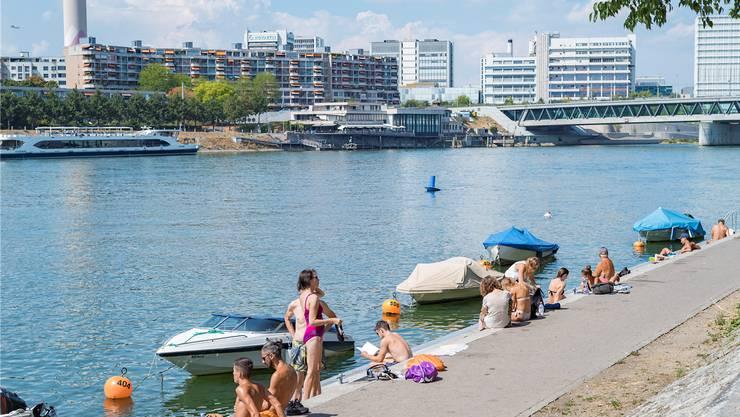 Der Preis der schönen Lage am Rheinbord sind Lärm und Abfallberge.