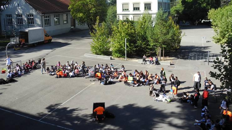 Rund 250 Kinder waren an der Aktion beteiligt.