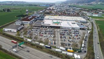 Der Gäupark in Egerkingen wurde zu einem der grössten Shoppingcenter.