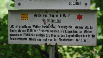 Ausflugsziel Salmenweiher
