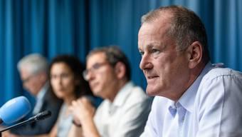 Stephan Attiger übernimmt das Schlüsseldepartement von der zurückgetretenen Franziska Roth.