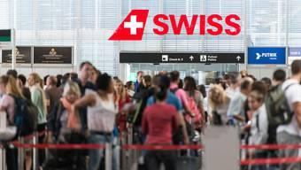 Das Reisefieber am Flughafen Zürich ist in den letzten zehn Jahren stark angestiegen.