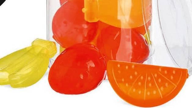Bund warnt vor Eiswürfelset«Fruits» von Depot