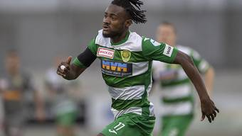 Der Krienser Goalgetter Asumah Abubakar blieb im Heimspiel gegen Stade Lausanne-Ouchy ohne Torerfolg