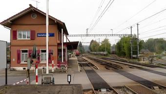 Gerlafingens Bahnhof wird umgebaut.