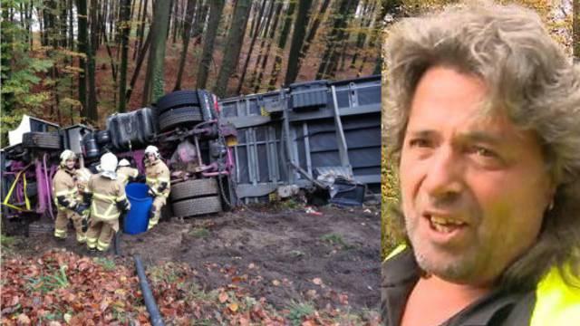 Lastwagen-Chaffeur nach Unfall: «Zum Glück ist nich viel passiert»