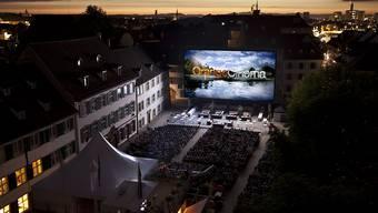 Diesen Sommer verzichten die Veranstalter des Freiluftkinos auf dem Münsterplatz auf die Tribüne.