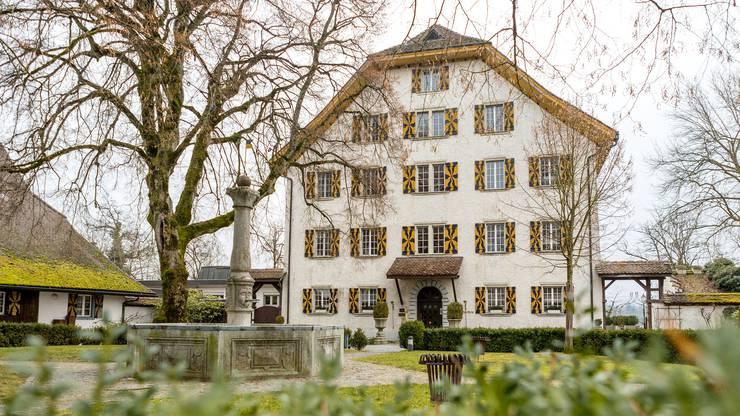 """Nächste Woche startet das Jassturnier """"az-Jasskönig"""" in den Aargauern Schlössern. Im Bild: Schloss Böttstein."""