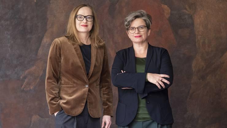 Sonja Kuhn und Katrin Grögel haben die Co-Leitung des Basler Amts für Kultur inne.