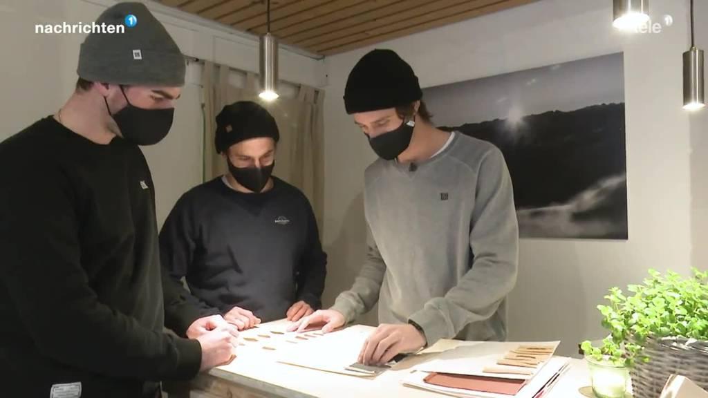 Jungs aus Ruswil erobern Kleidermarkt
