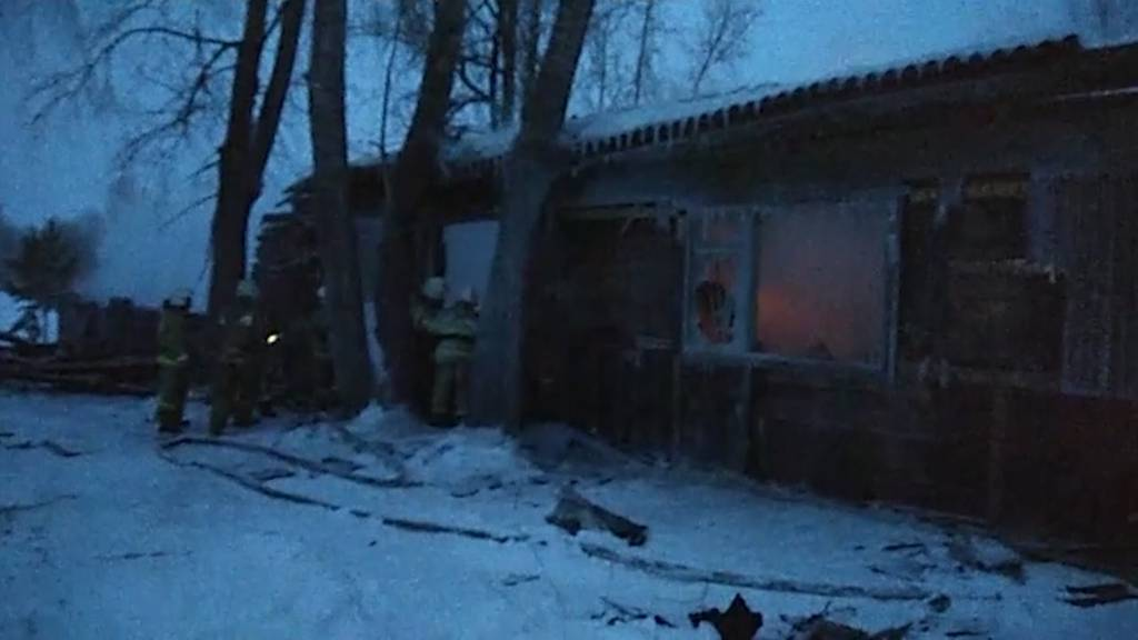 Sibirien: Brand in Holzhaus fordert elf Tote