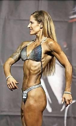 «Unheimlich stolz» war die Seetaler Bodybuilderin.