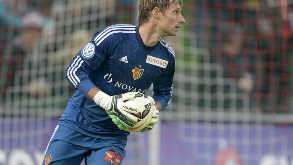 Ein weiteres Jahr beim FC Basel: Ersatzgoalie Germano Vailati
