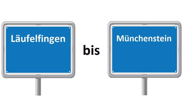 Läufelfingen bis Münchenstein