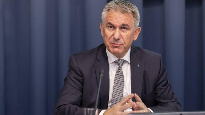 Regierungsrat Alex Hürzeler.