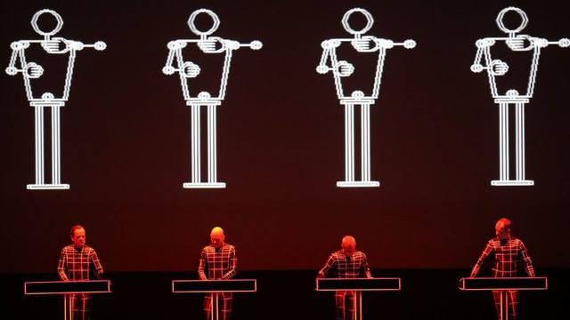 Auftritt der Düsseldorfer Elektronik-Pioniere Kraftwerk (Archiv)