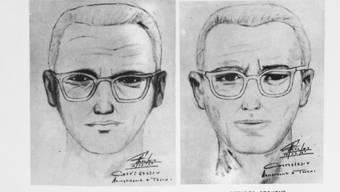 Zwei Phantombilder des Mannes, der sich «Zodiac-Killer» nannte.