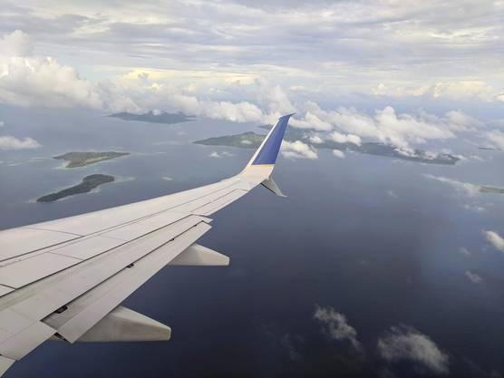 Die Chuuk-Lagune in Mikronesien.