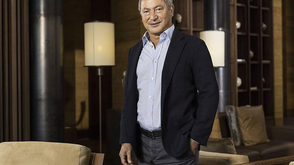 Samih Sawiris, Präsident der Orascom, dürfte mit dem Geschäftsjahr 2015 alles andere als zufrieden sein. (Archiv)