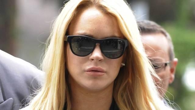 Lindsay Lohan nervt sich einmal mehr (Archiv)