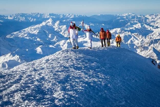Aufstieg auf den über 5000 Meter hohen Elbrus im Kaukasus