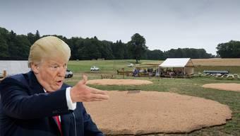 Donald Trump und der Engelberg-Schwinget