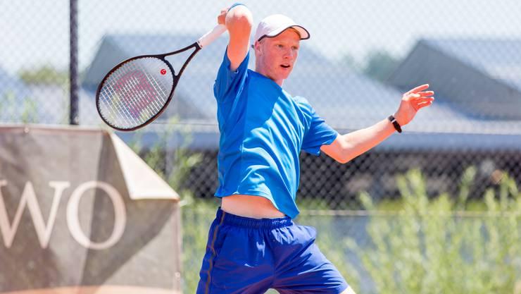Jonas Schär holt sich an den Aargauer Junioren Meisterschaften seinen 18. Titel.