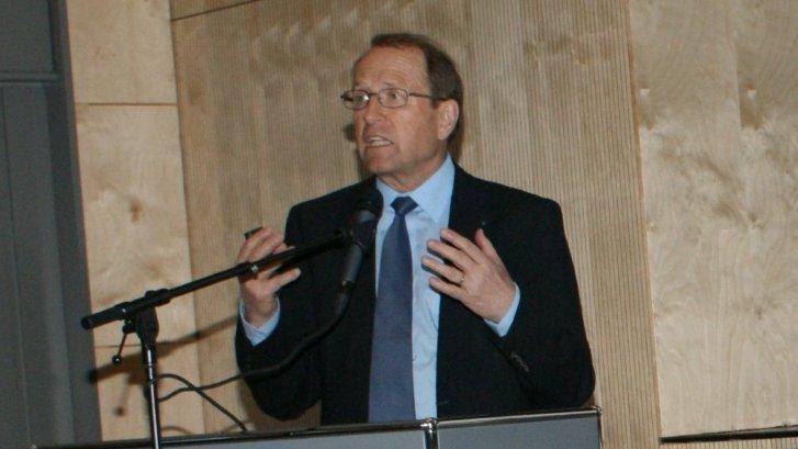 Der Aargauer Regierungsrat Peter C. Beyeler